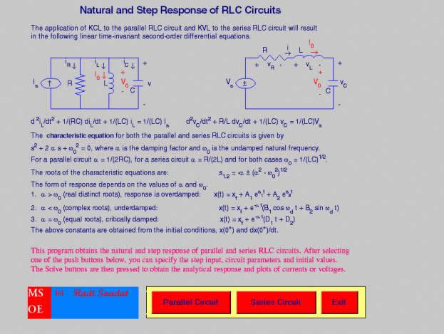 formulas for rlc circuit Series rlc circuits  you should remember that in the series rlc circuit the following three formulas were used to find reactance, impedance,.